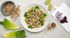 Oppskrifter - Diabetesforbundet Scampi, Fajitas, Sprouts, Vegetables, Food, Chili Con Carne, Meal, Essen, Vegetable Recipes