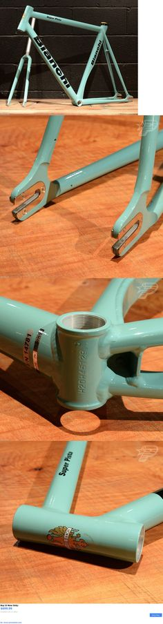 bicycle parts: New 2016 Bianchi Super Pista 59 Cm Frameset Celeste Track Bicycle Frame Fork BUY IT NOW ONLY: $699.99 #priceabatebicycleparts OR #priceabate