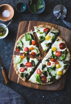 Padron Pepper Margherita pizza