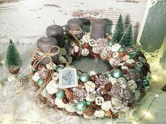 Christmas Ideas, Christmas Wreaths, Xmas, Advent Wreaths, Diy Ideas, Centerpieces, Gardening, Holiday Decor, Winter