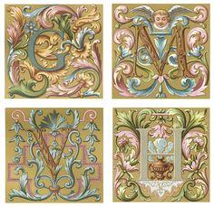 Dover Publications- Initials