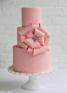 Wedding Cakes | Erica O'Brien Cake Design | Hamden, CT http://ericaobrien.com
