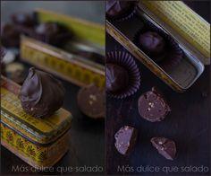Trufas de mantequilla de cacahuete de Lorraine Pascale