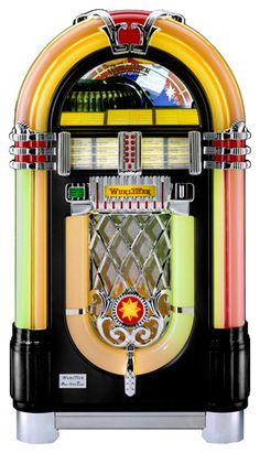 Wurlitzer One More Time CD Jukebox...these were as beautiful as the music they played.