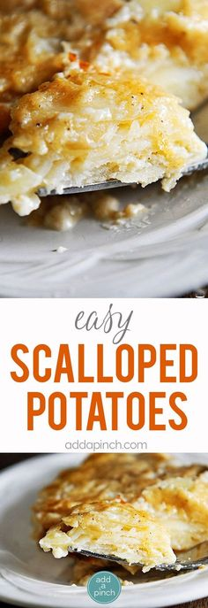 Scalloped Potatoes Recipe - This easy scalloped potatoes recipe is so ...