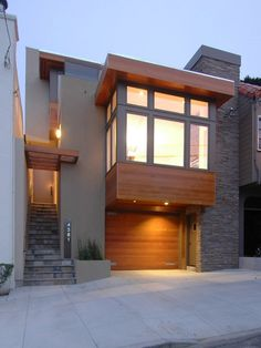 Modern Exterior Japanese Small House Design Design, Pictures, Remodel, Decor and Ideas - page 13