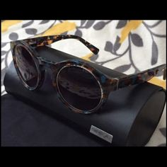 Derek Lam Bowery Sunglasses NEW Very fun and stylish Derek Lam sunglasses, comes with hard case and microfiber cleaning cloth/case. Never been used. Go ahead, make a statement in these beautiful unique sunnys! Derek Lam Accessories Sunglasses