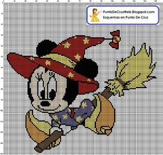 Minnie Cross Stitch