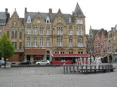 Grote Markt, Ieper, Belgium -- my other home