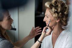 Jaclyn L Photography, Jennie Kay Beauty Salon, Newport wedding, Newport RI wedding, Newport salon, bridal hair, bridal makeup #weddingmakeup