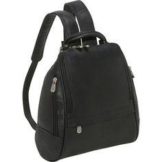 U Zip Mid Size Backpack Color: Black