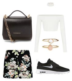 """Untitled #6"" by abbyharris26 on Polyvore featuring Boohoo, NIKE, Accessorize and Givenchy"
