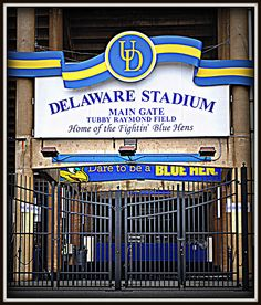 University of Delaware Newark DE         Delaware Football Stadium  Photo by me(Elaine Kucharski)