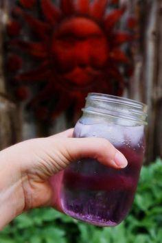 Violet Cardamom Soda