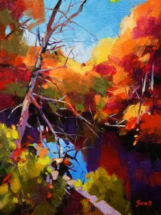 New England Pond, by Mike Svob