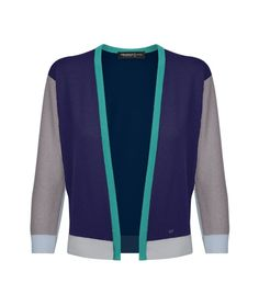 Pringle of Scotland offers multiple knitwear customizations.  From personalized color ways to monogramming, you can customize every element of the women's colorblock twinset cardigan above, for about $990.
