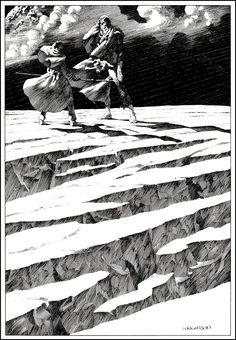 Geek Art Gallery: Illustration: Frankenstein