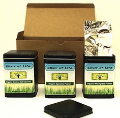 "Use the code ""FREESHIPNOV13"" to get Free Shipping on all items (expires at 11:45PM EST on 12/02/2013).  Super Greens Gift Set~Chlorella, Spirulina & Wheatgrass Powder Gift of Health!"