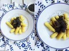 Delicious blog: Jáhelné šulánky s mákem Delicious Blog, French Toast, Breakfast, Food, Morning Coffee, Essen, Meals, Yemek, Eten