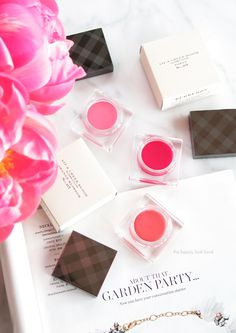 The Beauty Look Book: Burberry Beauty Lip and Cheek Blooms