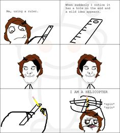 did this all the time in lower school! - I still do this hahaha