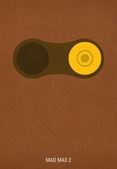 Mad Max 2 - minimal movie poster