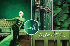 Emerald - Pantone's colour of the year
