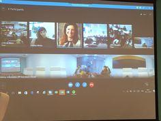 """Thank you @evepsalti for accepting the challenge to answer students' Qs @SkypeClassroom  #Greece #Cyprus #Malta @SavvidouHelen #Skypeathon"""