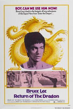 Bruce Lee - Return of the Dragon - Mini Print
