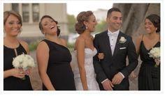 Bridal party shot