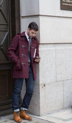 look masculino casaco