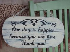 Wedding Sign Shabby Chic Wedding Decor by SassySouthernCharm, $22.00