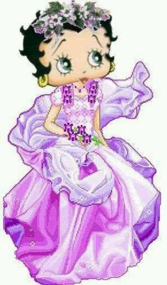 *BETTY BOOP* love her in purple!!!