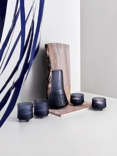 Iittala will be celebrating 50 years of the Ultima Thule series, one of Tapio Wirkkala's masterpieces, in a new rain colored blue tone. Beating The Blues, Niklas, Glass Packaging, Nature Decor, Nordic Style, Blue Design, Scandinavian Interior, 50th Anniversary, Shades Of Blue