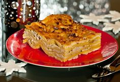 Lasagne carbonara Apple Pie, Bacon, Recipes, Food, Lasagna, Essen, Meals, Ripped Recipes, Eten