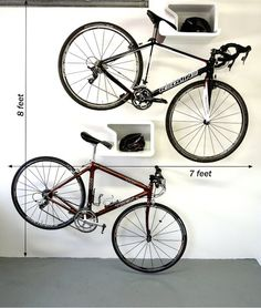 Shelfie: Home Bike Hanger