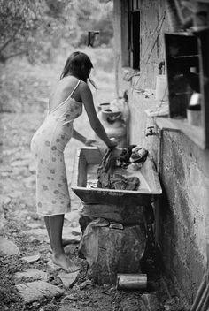 Mexico, 1981. Photo by Bernard Plossu.