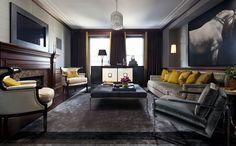Dark and Elegant Interiors - Interior Design: Summer Thornton Design, Inc.