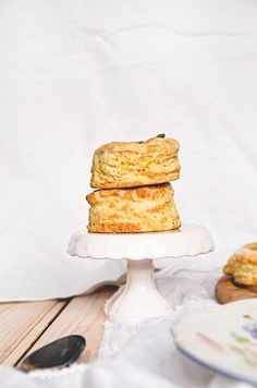 Feta cheese and sage scones