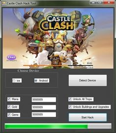 If you want to have unlimited resources in Castle Clash this hack is for you! http://gamesfixer.com/castle-clash-hack/