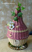 ГномоТаун Paper Basket, Christmas Ornaments, Holiday Decor, Home Decor, Craft, Cross Stitch, Flowers, Diy, Decoration Home
