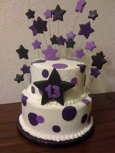 13th birthday cakes funny stars 13th Birthday Cakes for Girls and Boys