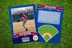 Ace: Baseball Card Template  @graphicsmag