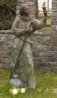St. Brigit of Kildare, the Mary of the Gael, holy well.  Before she was St. Brigid, she was the goddess of fire and poetry.