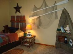 fishing theme bedrooms   Rustic Fishing - Boys' Room Designs - Decorating Ideas - HGTV Rate My ...
