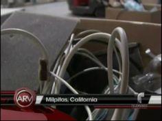 Señora Dona A Centro De Reciclaje Computadora De Colección Con Valor De 200,000 Dólares #Video