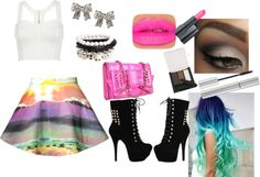 """""""i love this skirt!"""" by alexandraalyssapage on Polyvore"""