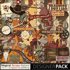 {Wild Frontier} by Magical Scraps Galore