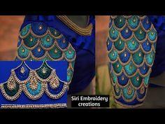 Maggam Work Designs, Simple Kurti Designs, Blouse Designs Catalogue, Blouse Designs Silk, Sleeves Designs For Dresses, Sleeve Designs, Wedding Drawing, Wedding Saree Blouse Designs, Hand Work Blouse Design
