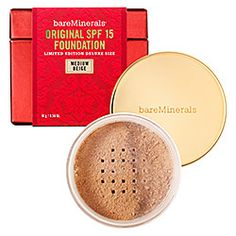 Great coverage mineral make up.  Jumbo size is a great value.